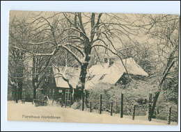 Y12750/ Forsthaus Hartröhren Bei Detmold  AK 1921 - Germany