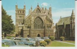 Postcard - Churches - The Cathedral, Exeter - Card No..pt2083 -  Posted 29th June Very Good - Postcards