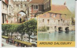 Postcard - Salisbury - Three Views Card No..plx5609 -  Posted 3rd June 1978 Very Good - Unclassified