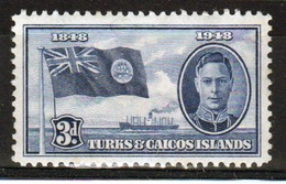 Turks And Caicos 3d Single Stamp From The Centenary Of The Separation From The Bahamas Set. - Turks And Caicos