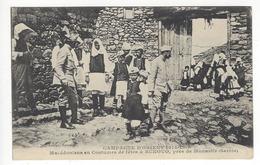 CAMPAGNE D'ORIENT 1914-1918. Macédoniens En Costume De Fête à BUKOVO, Près De Monastir - SERBIE - War 1914-18