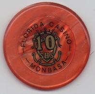 Jeton De Casino : Florida Casino Monbasa Kenya : 10 SHS - Casino