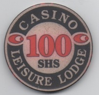 Jeton De Casino : Casino Leisure Lodge Kenya : 100 SHS - Casino