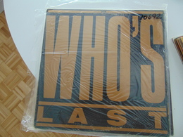 The Who- Who's Last (2 LP) - Rock