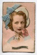 STE SAINTE CATHERINE 0033 Jeune Fille Portrait Ajouti  Et Son Bonnet Avec Ruban Bleu - Santa Caterina