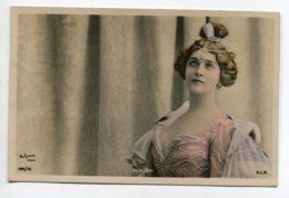 ARTISTE 1035 Natalina Lina CAVALIERI Portrait  188/ 12    écrite En 1906  Photog REUTLINGER - Opéra