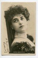 ARTISTE 1039 Wanda De BONCZA  1903  Beau Tirage  Carte Photo  Portrait 97/18 Reutlinger Paris - Artistas