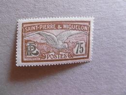 S P M   P 90 * *    SERIE COURANTE OISEAU - St.Pedro Y Miquelon