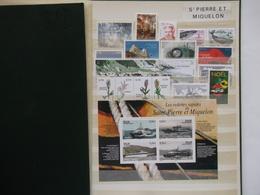 SAINT PIERRE Et MIQUELON    Année 2006 Complete  Neuf   Cote 63,30    Euros  Compris (voir Photo) - Años Completos