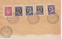VATICAN 1940 LETTRE - Lettres & Documents