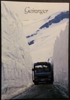 Ak Norwegen - Trollstigen   - Berglandschaften - Geiranger Strasse - Bus - Norwegen