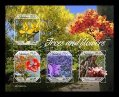 Maldives 2019 Mih. 8244/47 Flora. Trees And Flowers MNH ** - Maldives (1965-...)