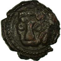 Monnaie, Italie, SICILY, Guillaume II, Follaro, 1166-1189, Messina, TTB, Cuivre - Feudal Coins