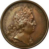 France, Médaille, Louis XIV, Fortification De 150 Villes, 1692, Mauger, SUP+ - France