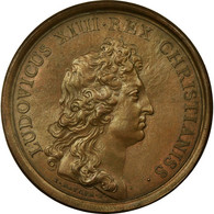 France, Médaille, Louis XIV, Le Roi Accessible à Tous Ses Sujets, 1661 - France