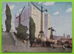 14228 Garkavenko. Kiev. Ukraine. Hotel Construction - Schilderijen