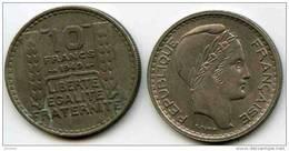 France 10 Francs 1949 GAD 811 KM 909.1 - France