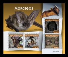 Mozambique 2019 Mih. 10186/89 Fauna. Bats MNH ** - Mozambique