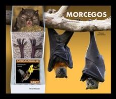 Mozambique 2019 Mih. 10190 (Bl.1478) Fauna. Bats MNH ** - Mozambique