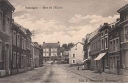 Belgique - Soumagne : Rue De L'Eglise - CPA écrite - Soumagne