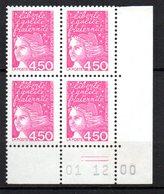 Col12   France Coin Daté N° 3096 Luquet 01 12 2000  Neuf XX MNH Luxe - 2000-2009