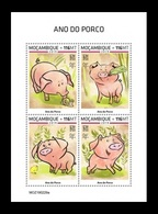 Mozambique 2019 Mih. 10226/29 Lunar New Year. Year Of The Pig MNH ** - Mozambique