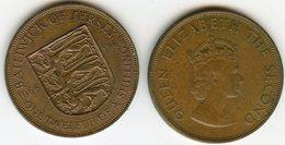 Jersey 1/12 Shilling 1966 900 Ans De La Conquête Normande KM 26 - Jersey