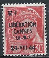 France Libération Cannes Mayer 2 XX / MNH - Libération
