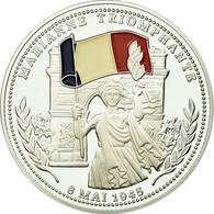 France, Médaille, Seconde Guerre Mondiale, Marianne Triomphante, FDC, Argent - France