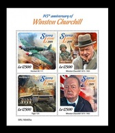 Sierra Leone 2019 Mih. 10568/71 Prime Minister Of Great Britain Winston Churchill MNH ** - Sierra Leone (1961-...)