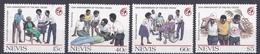 Nevis 1988 - Mi.Nr. 488 - 491 - Postfrisch MNH - Rotes Kreuz Red Cross - St.Kitts And Nevis ( 1983-...)