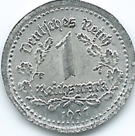 Germany - 3rd Reich - 1 Mark - 1937 D - Tin Coin - Magnetic - [ 4] 1933-1945 : Tercer Reich