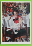 14240 Golovin. Girl And China - Paintings