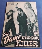 """Sophia Loren, Anthony Quinn, Margaret O'Brian > """"Die Dame Und Der Killer"""" > Altes NFP-Filmprogramm '1960 (fp197) - Zeitschriften"""