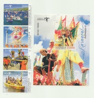 Indonesia 2019 - Indonesia Carnivals #2 (Stamp Set + SS Perforation) - Indonesia