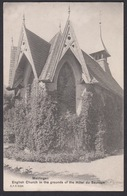 CPA  Suisse, MEIRINGEN, English Church In The Grounds Of The Hotel Du Sauvage - BE Berne