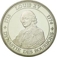 France, Médaille, Roi De France, Louis XV, FDC, Copper-nickel - France