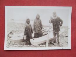 RPPC   Far Northern Eskimo Family Alaska        Ref 3376 - Native Americans