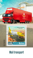 MALDIVES 2019 - Mail Transport, Boeing 737-300 S/S Official Issue - Vliegtuigen