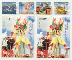Indonesia 2019 - Indonesia Carnivals #2 (Stamp Set + SS Perforation + Limited SS Non Perforation) - Indonesia