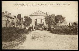 Champtoceaux - La Hamelinière (XV Siècle) - Entrée De La Cour D'Honneur - Champtoceaux
