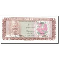 Billet, Sierra Leone, 50 Leones, 1984, 1984-08-04, KM:17b, NEUF - Sierra Leone