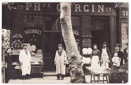 Toulon ,  53 Cours Lafayette , Carte Photo , Garcin P .  Beurres Fromages - Toulon