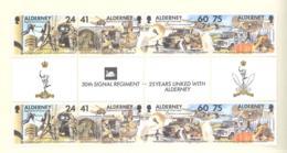 Alderney  Michel #  90 - 93  ** Gutter Paare - Alderney
