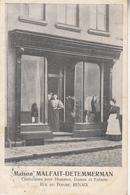 Maison Malfait-Detemmerman - Confections Pour Hommes, Dames Et Enfants - Rue Du Poivre - Renaix - 1912 - Commerce