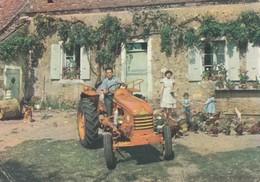 Carte Pub. Tracteur Renault...1960 - Tractors