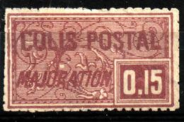 "France Colis Postal YT N°16  Neuf (*) Sans Gomme (1918) ""Majoration"" - Neufs"