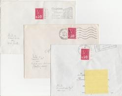 1664 0.50F. BEQUET De CARNET Avec DATE / N° / REPÈRE - 1971-76 Marianne Of Béquet