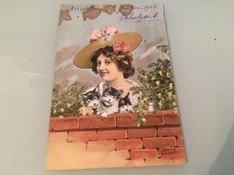 Ancienne Carte Postale - Illustrateur - Ulrich Weber - Illustrateurs & Photographes