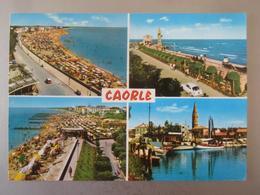Caorle (Venezia) - Mehrbildkarte / Nachgebühr, Nachporto, Taxiert?? - Italy